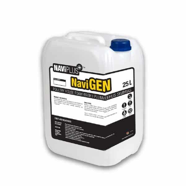 A concentratedheavy-Duty alkaline foam cleaner, suitable for all surfaces including aluminium at recommended dilution rate